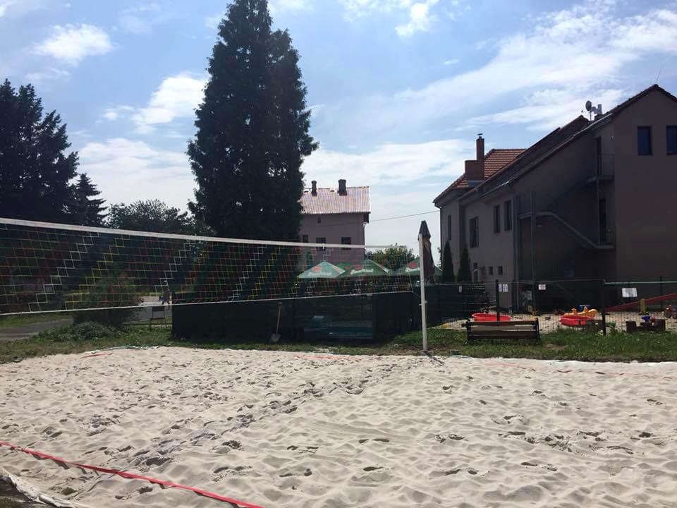 Volejbal a dobré pivo v Sobotce
