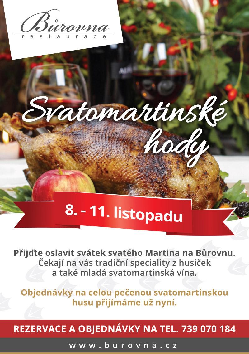 Svatomartinská husa 8.-11.18.2019